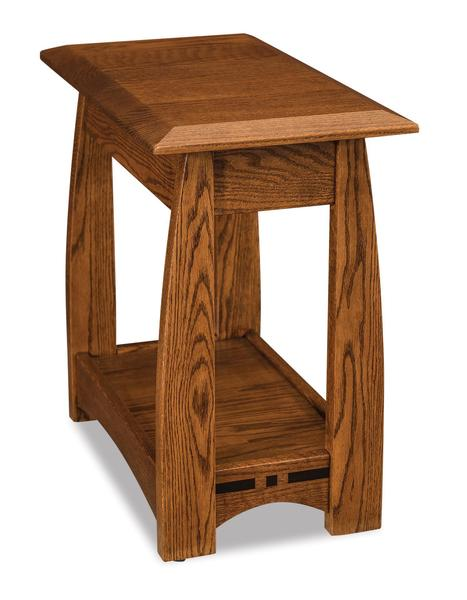 Amish Boulder Creek Open Chair Side End Table