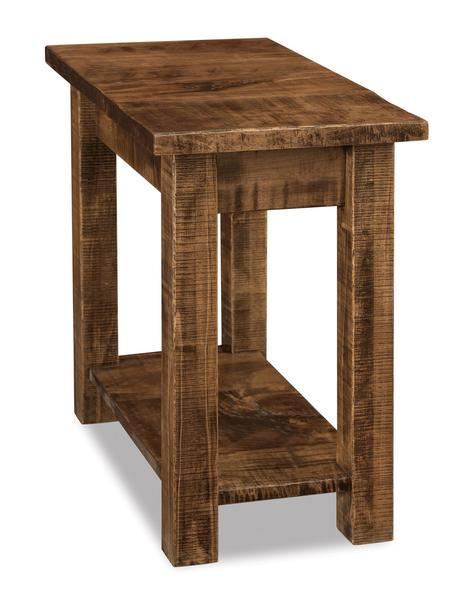 Amish Houston Open Chair Side End Table