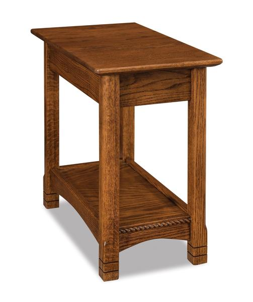 Amish West Lake Open Chair Side End Table