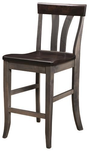 Amish Small Lennox Counter Stool