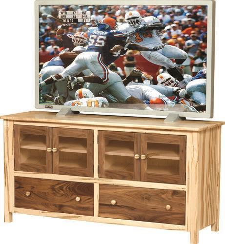 Amish Cornwell Large TV Stand with Doors