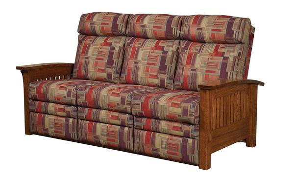 Amish Mission Recliner Sofa