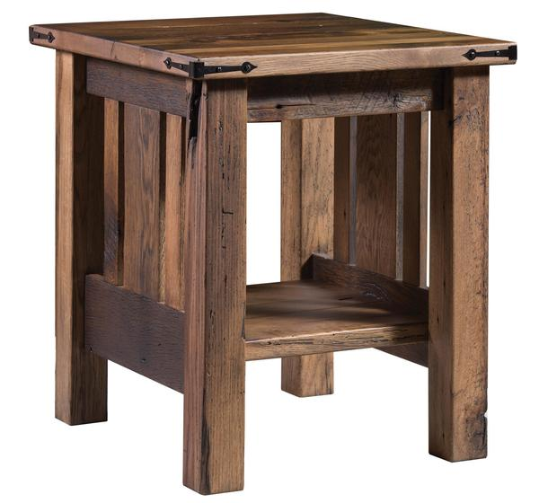 Amish Tiverton End Table