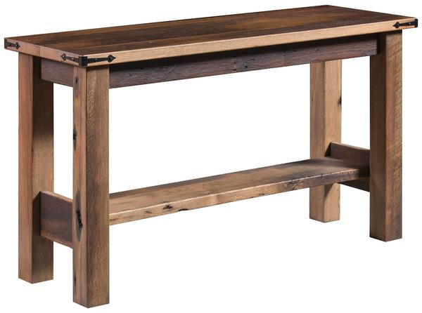 Amish Tivertonn Sofa Table