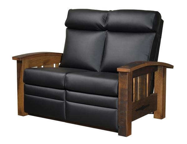 Amish Tiverton Recliner Loveseat