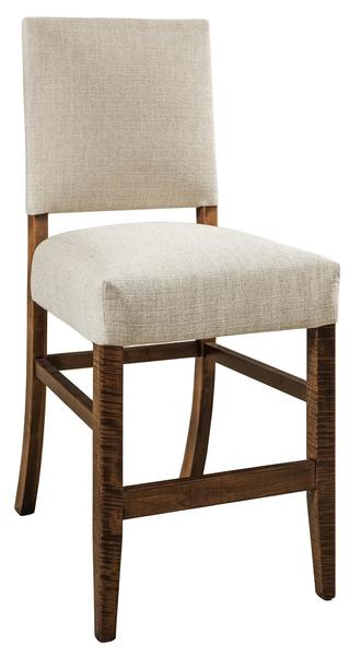 Amish Canaan Upholstered Bar Stool