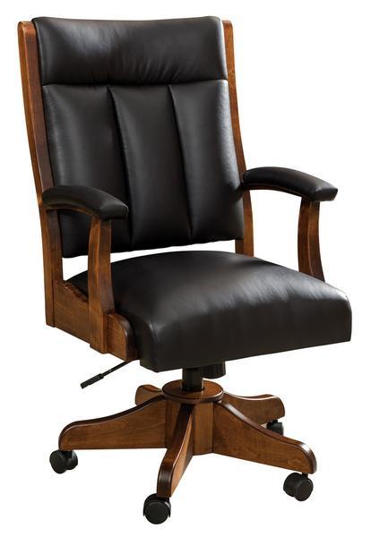 Amish Roxbury Upholstered Desk Chair
