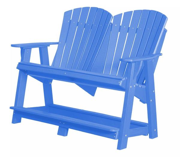 Outdoor Poly Furniture Heritage Double High Adirondack Chair