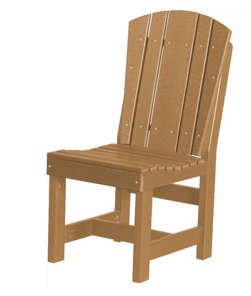 Eco Poly Lumber Outdoor Heritage Dining Chair