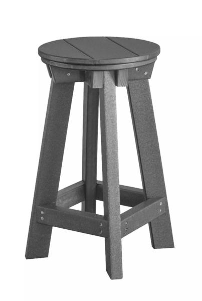 Recycled Poly Outdoor Heritage Bar Stool