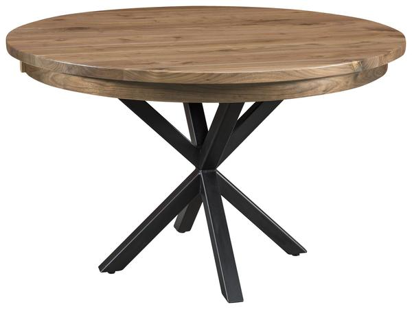 Amish Irvine Single Pedestal Dining Table