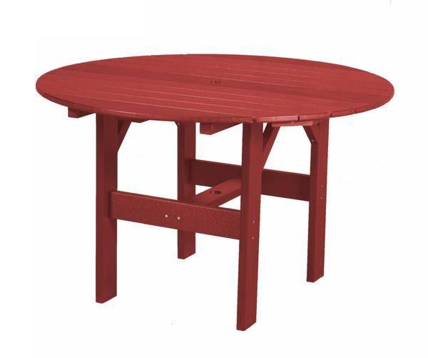 "EcoPoly Outdoor Furniture Classic 46"" Round Dining Table"