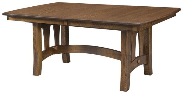 Amish Riverside Trestle Table