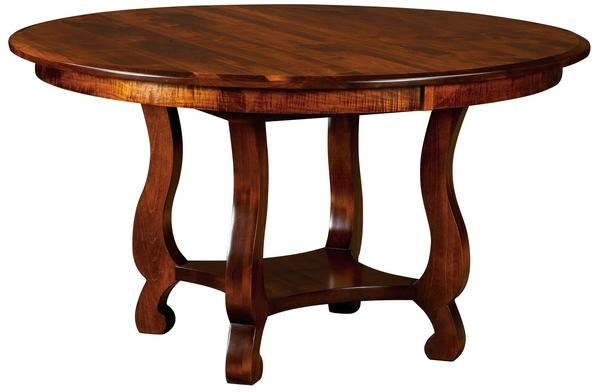 Amish Old Classic Sleigh Dining Table