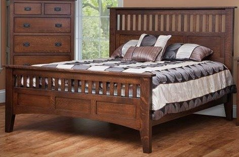 Amish Boca Mission Bed