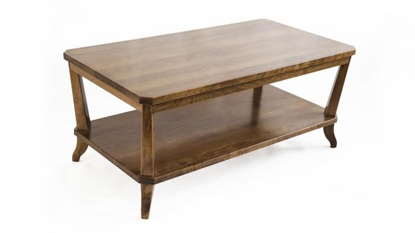 Amish Buckeye Coffee Table