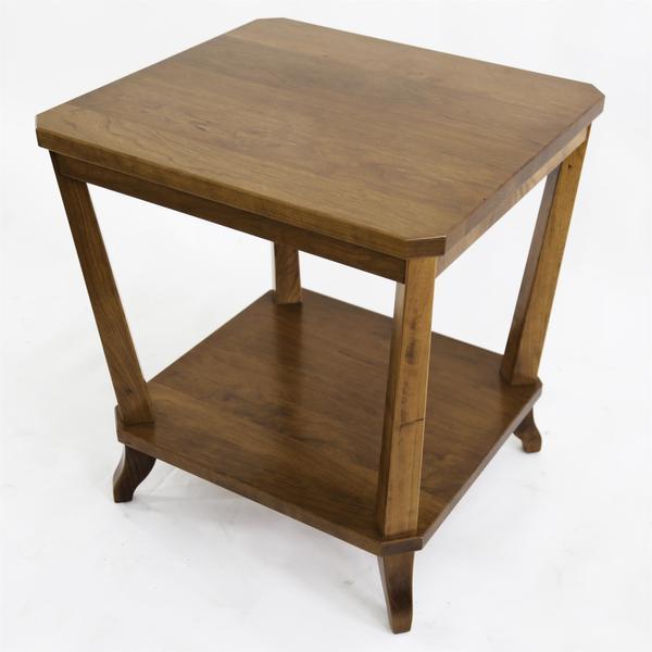 Amish Buckeye End Table