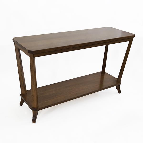 Amish Buckeye Sofa Table