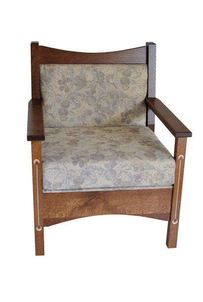 Amish Renwick Upholstered Dining Chair