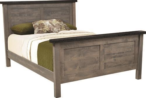 Amish Manchester Panel Bed