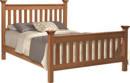 Amish Manchester Slat Bed