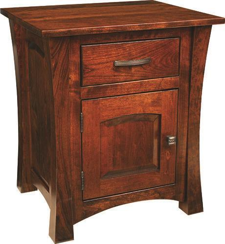 Amish Woodbury 1-Door 1-Drawer Nightstand