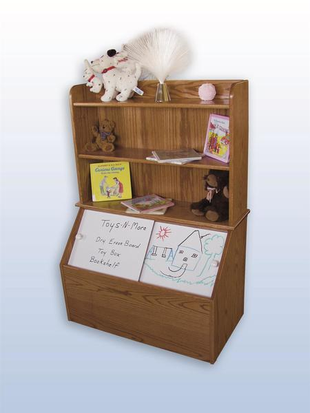 Amish Toy Box Bookshelf