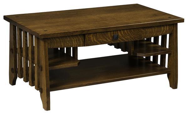 Amish Heritage Stick Mission Coffee Table