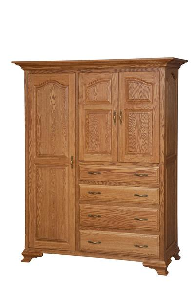 Amish Crown Villa Four Drawer Chifforobe