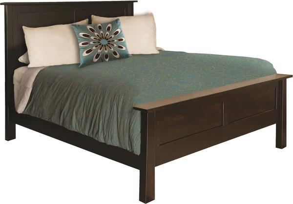 Amish Belleville Panel Bed