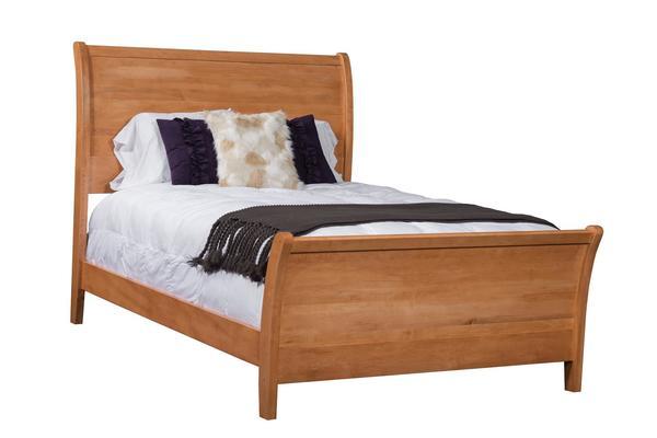 Amish Carlisle Panel Bed