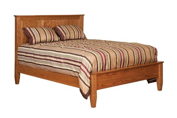 Amish Nebo Shaker Panel Bed