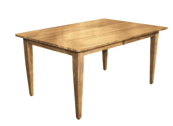 Amish Shaker Leg Dining Table