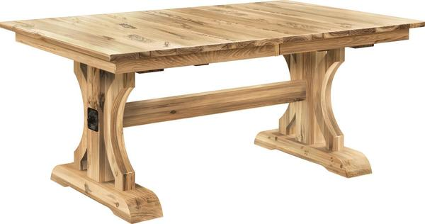 Amish Franklin Trestle Dining Table