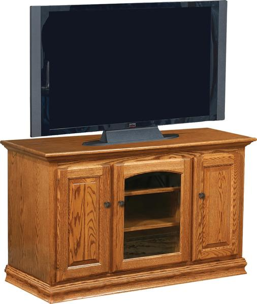 Amish Traditional Flat Wall TV Stand
