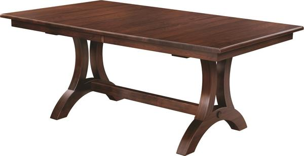 Amish Memphis Trestle Dining Table