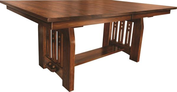 Amish Knoxville Trestle Dining Table