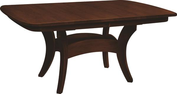 Amish Galveston Trestle Dining Table