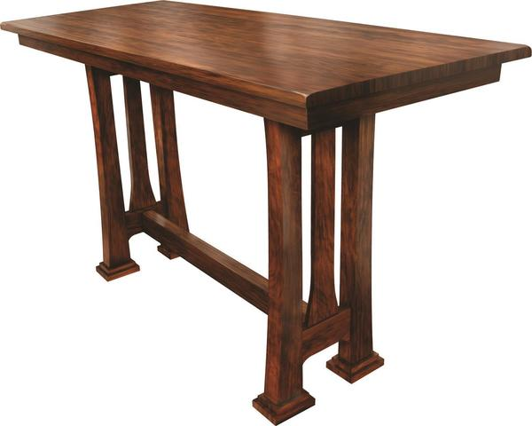 Tolieson Pub Table From Dutchcrafters, Dutchcrafters Amish Furniture