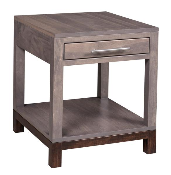 Amish Vienna End Table