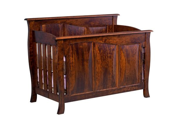 Amish Kenwood Panel Convertible Crib