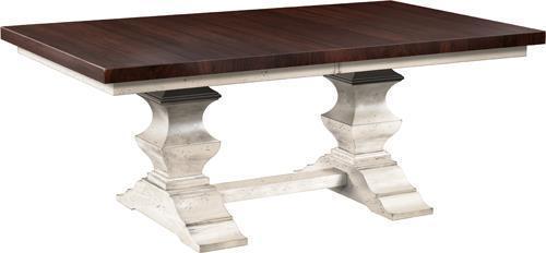 Amish Silverton Trestle Table