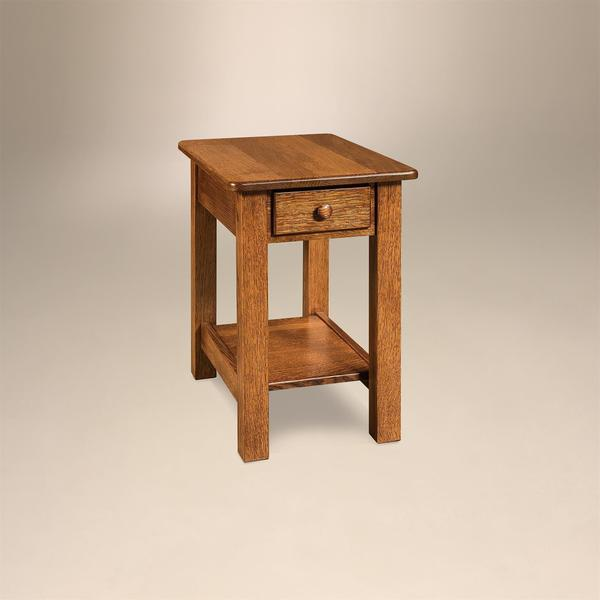 "Amish Contemporary Mission 16"" End Table"