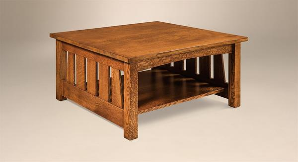 "Amish Elite Mission 36"" Square Coffee Table"
