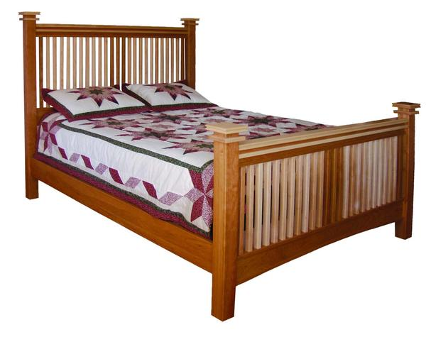 Amish Maple Creek Slat Bed