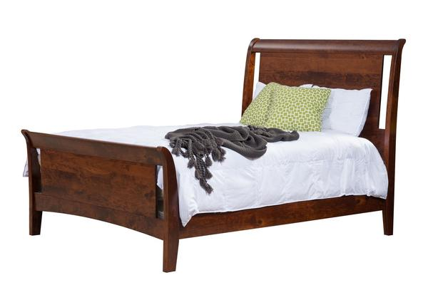 Amish New Haven Panel Bed