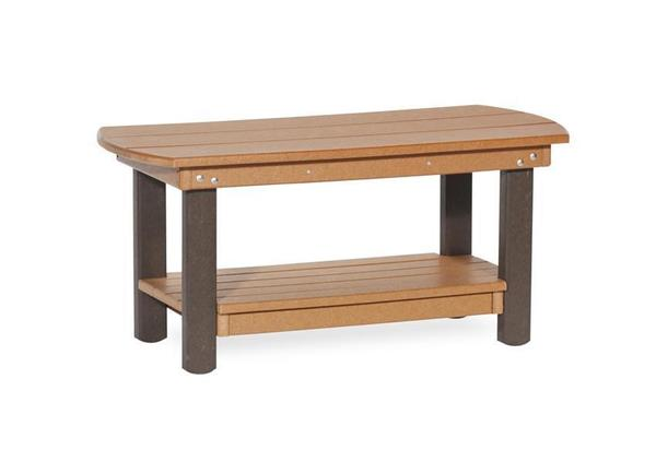 Amish Patio Recycled Poly English Garden Coffee Table