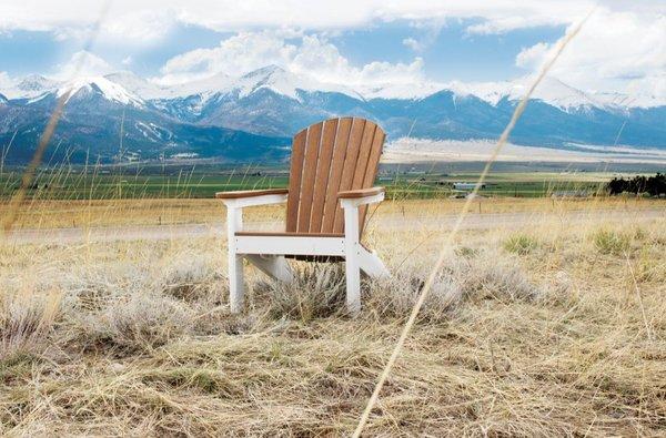 Berlin Gardens Comfo-Back Adirondack Chair