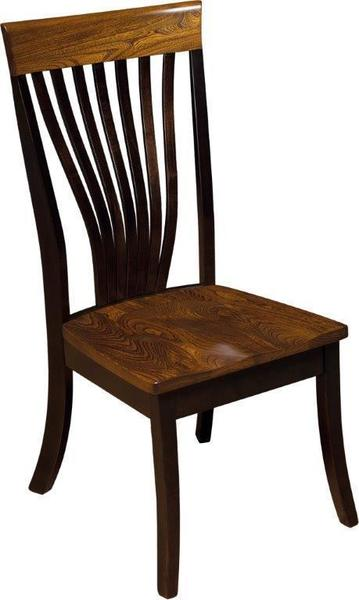 Amish Christy Fanback Chair - Quick Ship