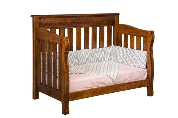 Amish Castlebury Toddler Bed - Quick Ship